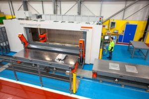 Handtmann HBZ CompactCell 5 axis CNC machining centre.