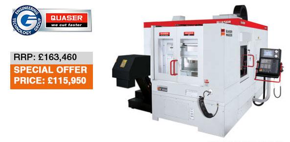 MK 603 S: one of Quaser's CNC vertical machining centres