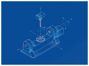 5 axis machining diagram