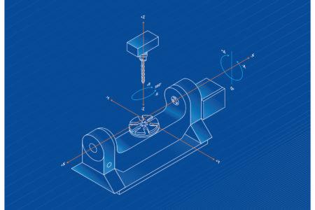 5 axis machining diagram