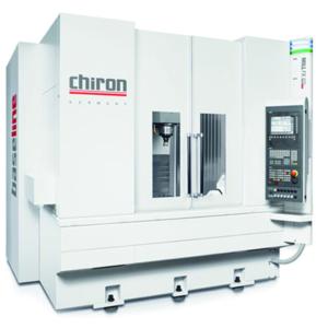A CNC lathe machine, manufactured by Chiron
