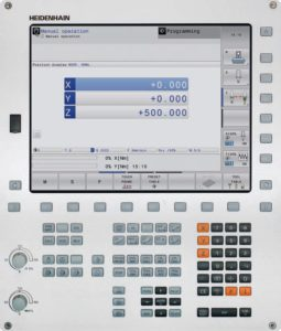 The TNC 320 - one of Heidenhain's controllers